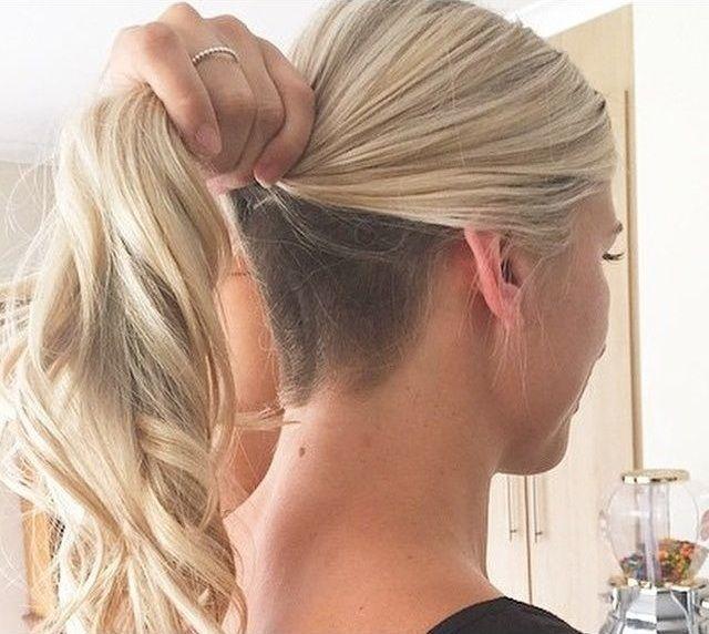 Versteckbare Undercut Frisur Frisuren Trend 123