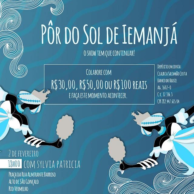 Opção de festa é o que não vai faltar no Rio Vermelho no dia 2 de fevereiro