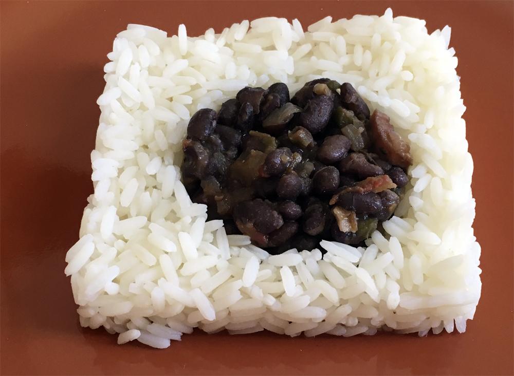 Moros y cristianos cocinar para cuatro for Cocinar judias negras
