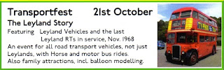 21st October 2018; A Living Heritage; Announcements; Brooklands Transportfest; Bus Museum Brooklands; Days Out In London; Exhibitions; Leyland RT Buses; London Bus Museum; London Charity; London Events; News; News Views Etc...; October 2018; Small Scale World; smallscaleworld.blogspot.com; The Leyland Story; ToysJune-034; Transportfest The Leyland Story;