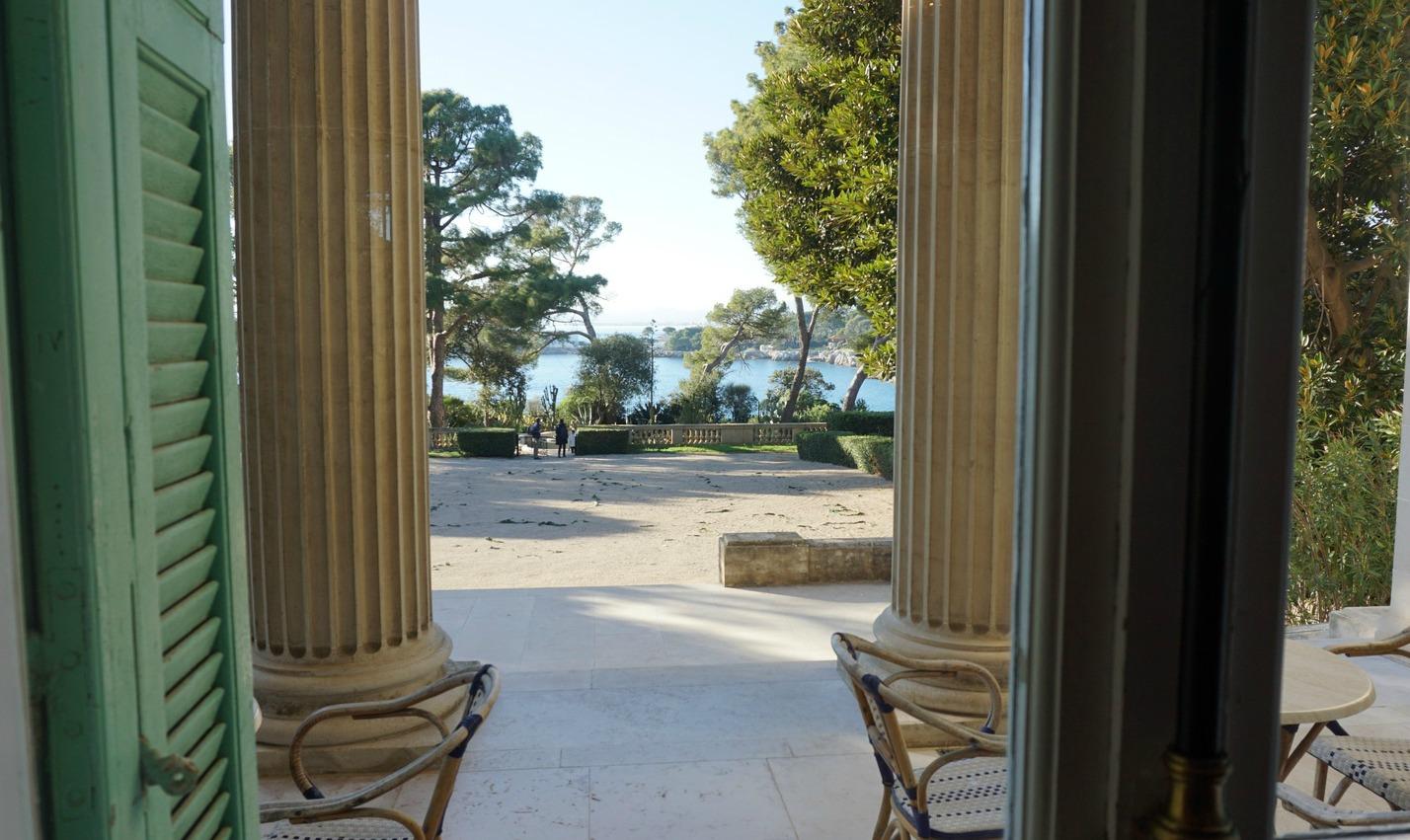 View from Villa Eilenroc