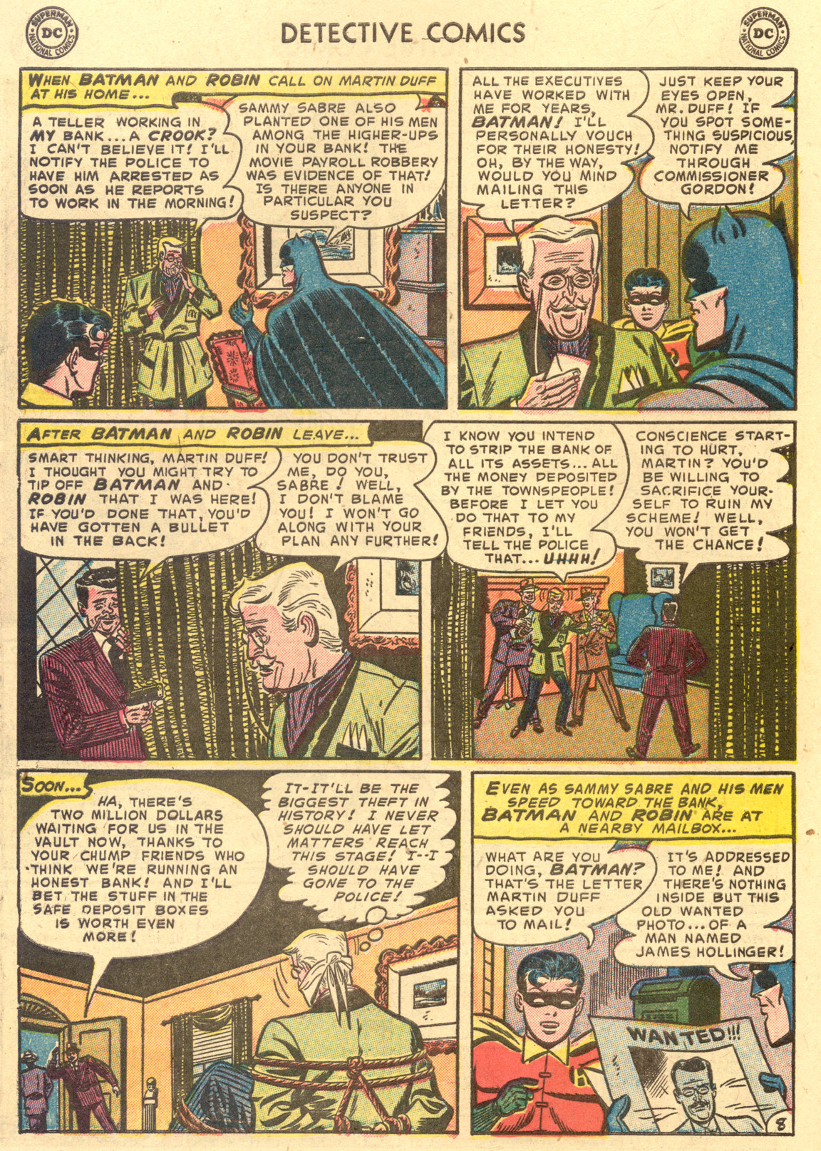 Read online Detective Comics (1937) comic -  Issue #194 - 10
