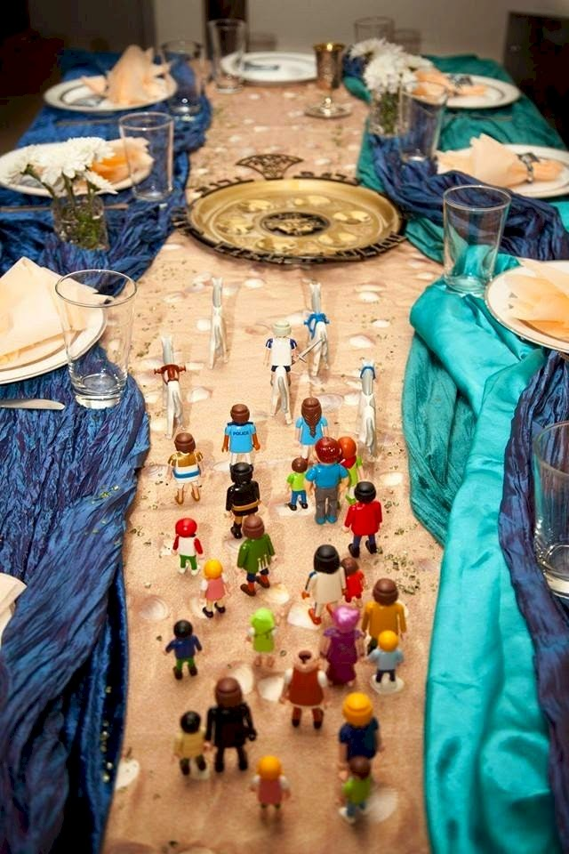 Daily Cheapskate Seder Exodus Table Arrangement By Dk Design