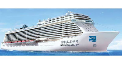 Norwegian Cruise Line's Norwegian Joy Built Exclusively for the Chinese Market