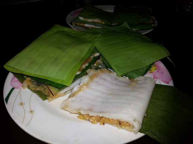 Chakka, ada, recipe ,ila ada, Steamed ,Rice Parcel i Banana Leaf,steamed cake,jackfruit ada