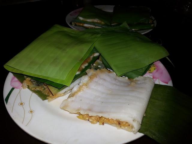 Chakka, ada, recipe ,ila ada, Steamed ,Rice Parcel i Banana Leaf,steamed cake,jackfruit ada