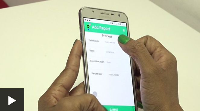 NoMore App: report rape cases in nigeria