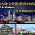 Hongkong-Shenzhen-Macau 5D4N
