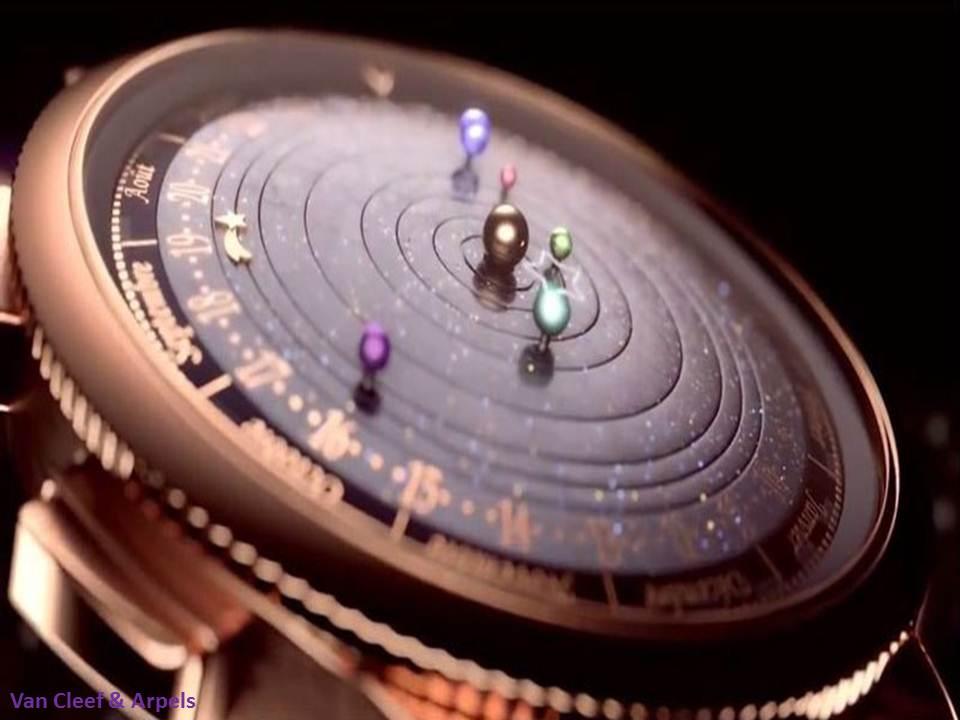 ساعة يد تجعل المجموعة الشمسية في معصمك !