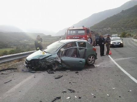Car accident in Shkoder, 4 people injured