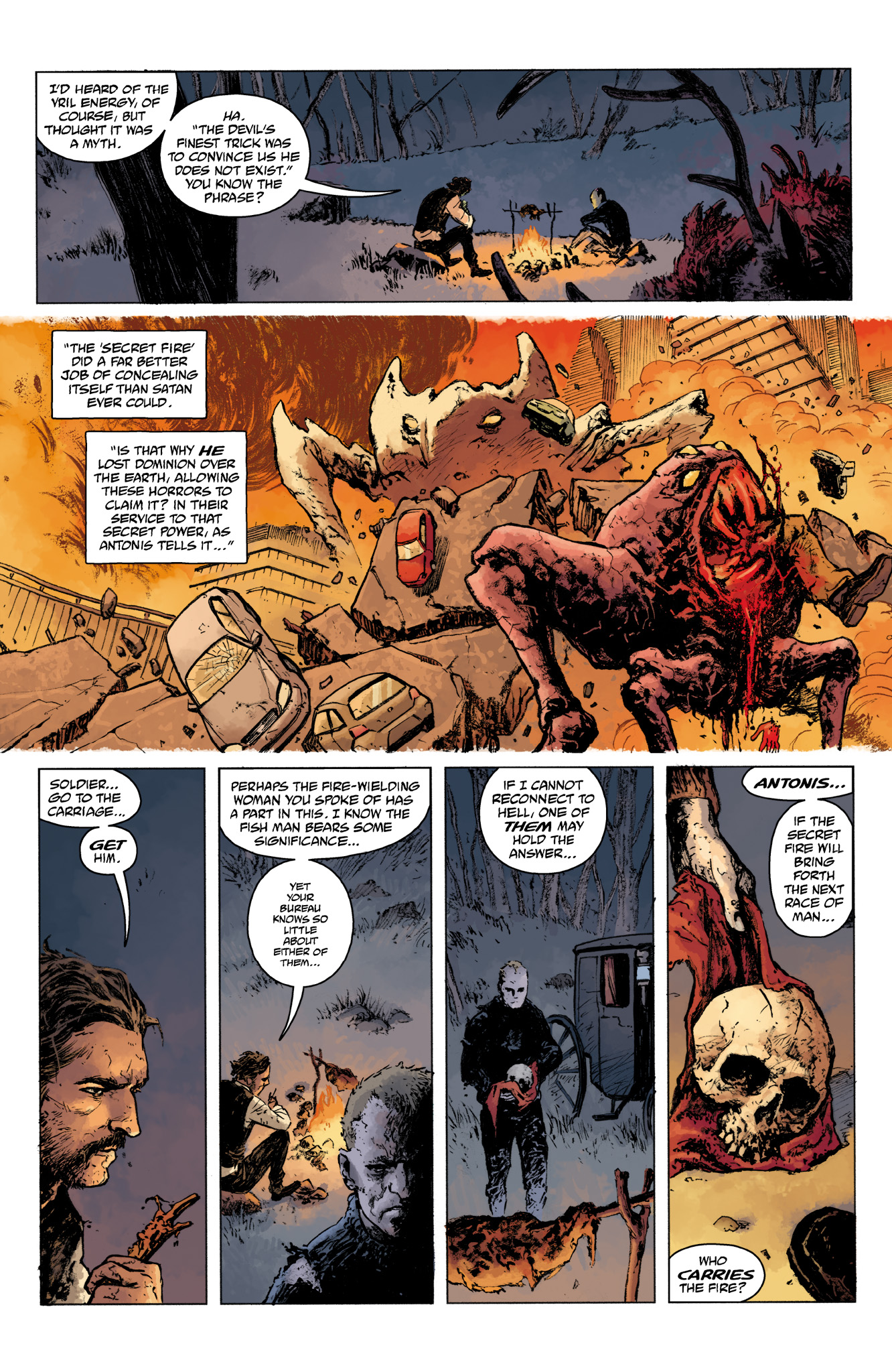 Read online Abe Sapien comic -  Issue #16 - 4