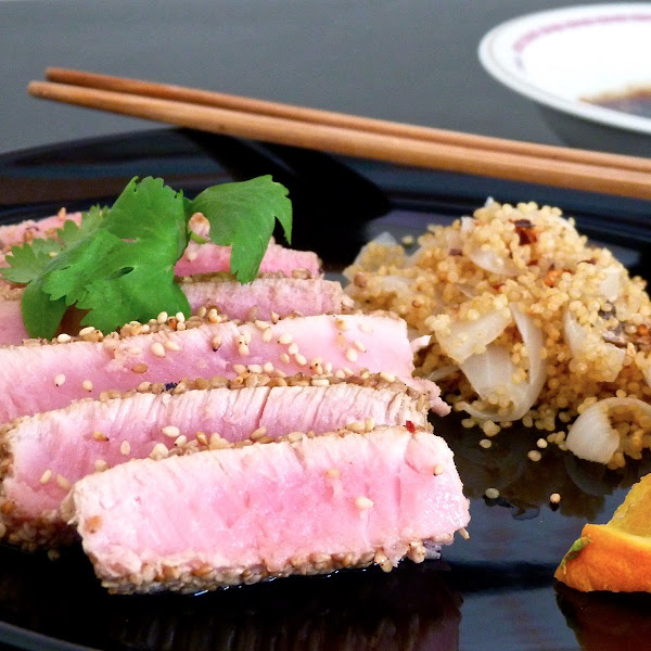 Sesame Seared Tuna Steak