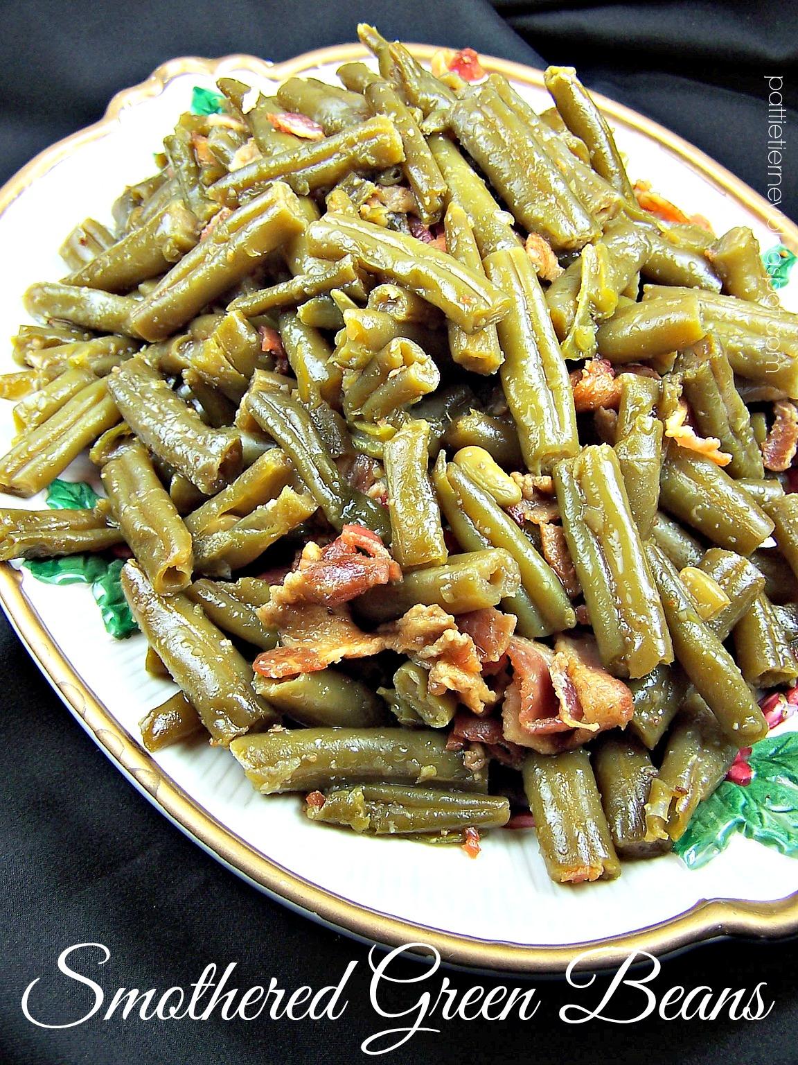 Olla-Podrida: Smothered Green Beans