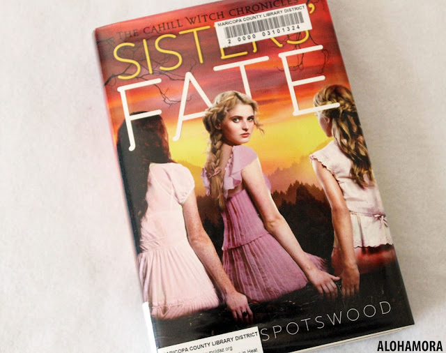 Sisters' Fate by Jessica Spotswood is the 3rd and final book in the Cahill Witch Chronicles series.  This YA/Young A