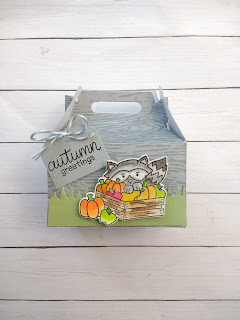 Happy Fall Y'all a project by Diane Morales |  Harvest Tails Stamp Set by Newtons Nook Designs