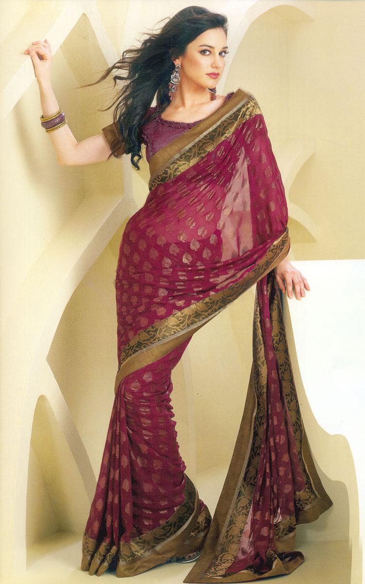Bollywood Sarees Navels: Indian Sarees For Girls: Sarees Designer
