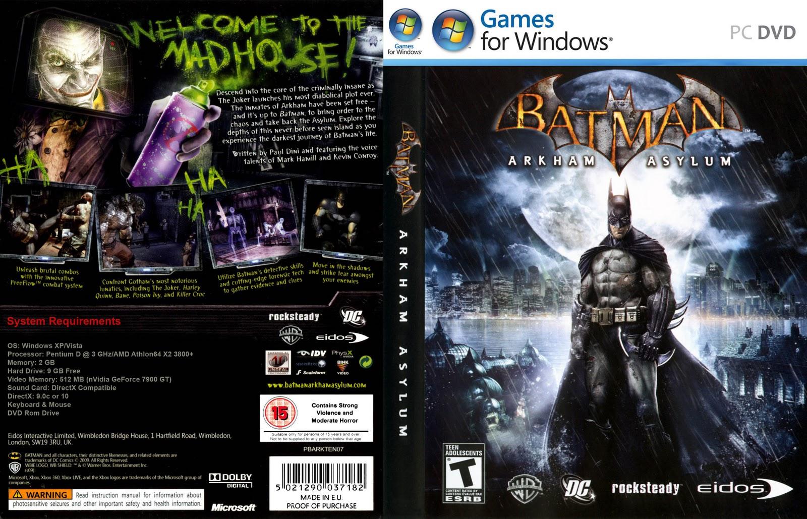 Batman game for pc.