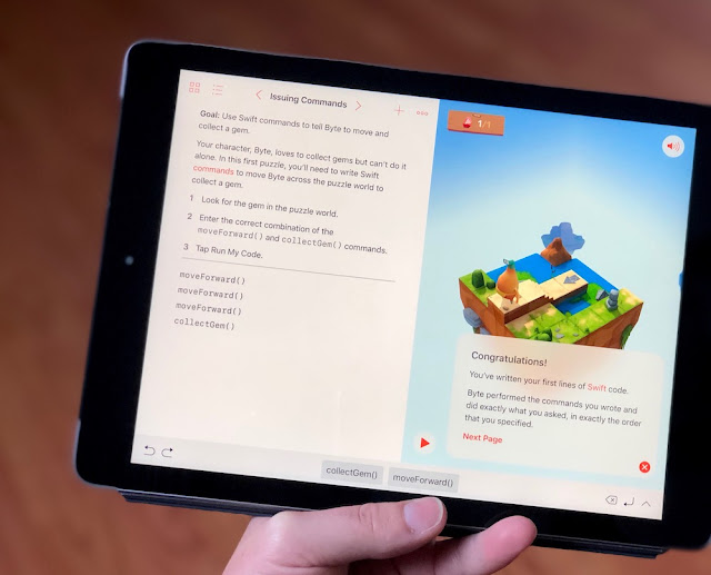 Apple - Swift Playgrounds - Computer Science Education Week