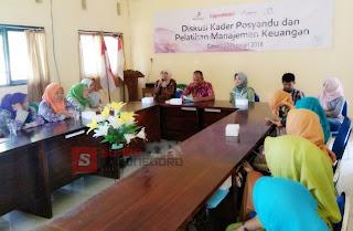 Bersama EMCL,  LSM Pattiro Gelar Pelatihan Usaha Bagi Kader Posyandu