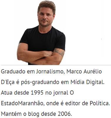 LIBERDADE DE IMPRENSA: Manifestamos apoio ao jornalista Marco Aurélio D'Eça