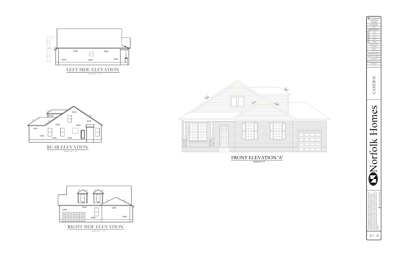 New Home Build Norfolk Homes House Plans Amp Elevations
