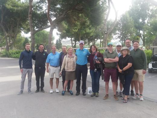Turisme promociona la oferta de turismo de golf de la Comunitat a través de turoperadores y medios de comunicación especializados