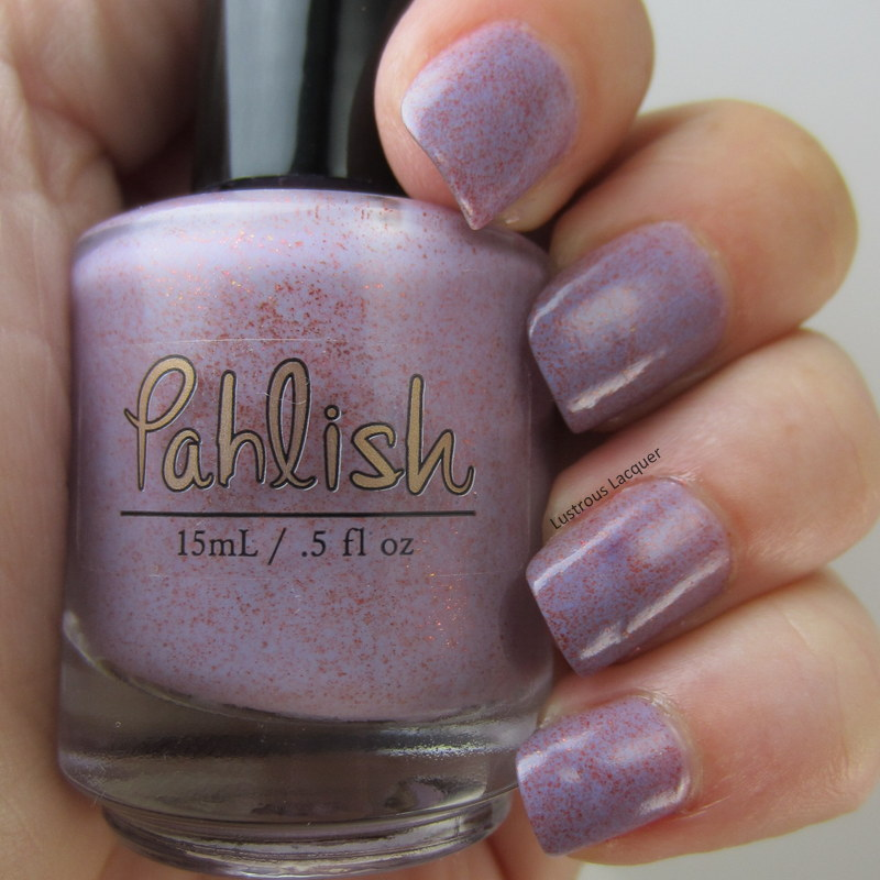 Lilac-purple-nail-polish-with-copper-shimmer