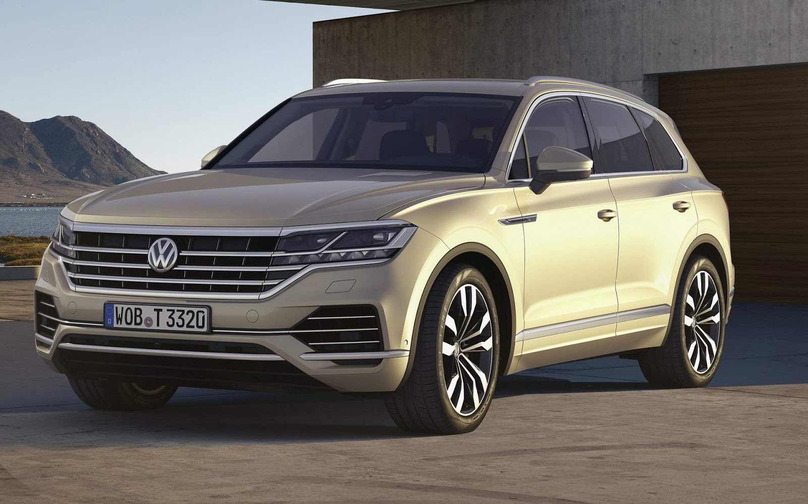 novo vw touareg 2018 come a a ser vendido na europa car blog br. Black Bedroom Furniture Sets. Home Design Ideas