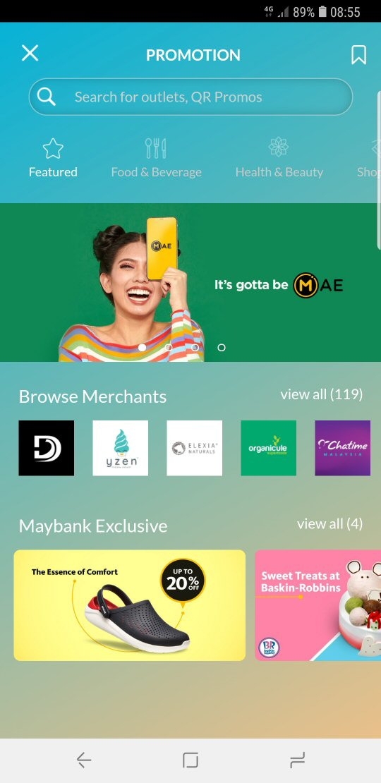 Maybank MAE Merchants' Promotions
