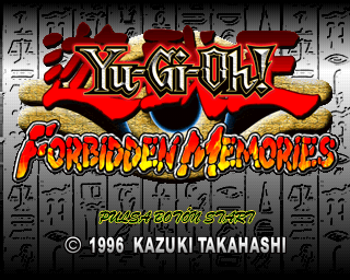 Resultado de imagen para yu gi oh forbidden memories