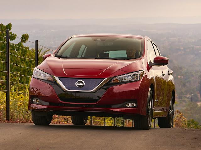 Nissan Leaf obtém 5 estrelas no NCAP