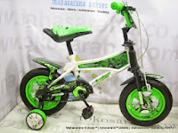 12 Inch Darson DS 1586-9 Square Kids Bike