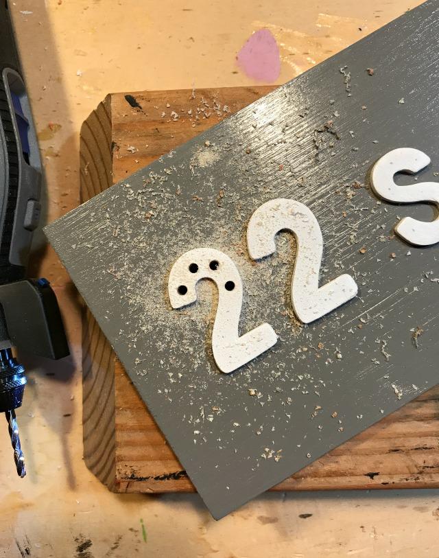 mini marquee sign light holes