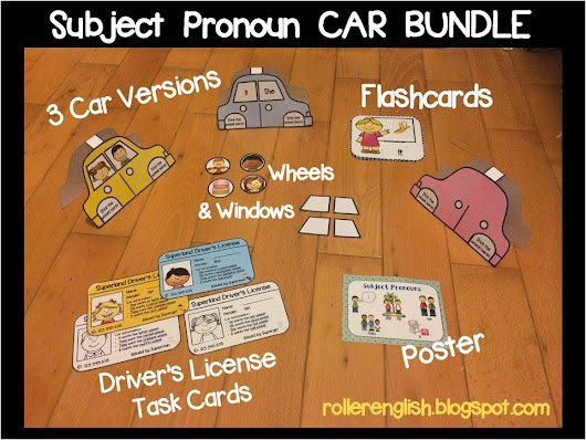 Subject Pronoun Cars - How cool is that!