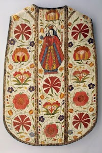 A Curious Marian Chasuble