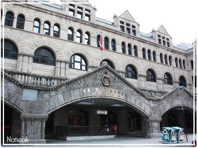 Métro Bonaventure Gare Windsor Montréal
