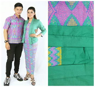 baju setelan batik suami istri