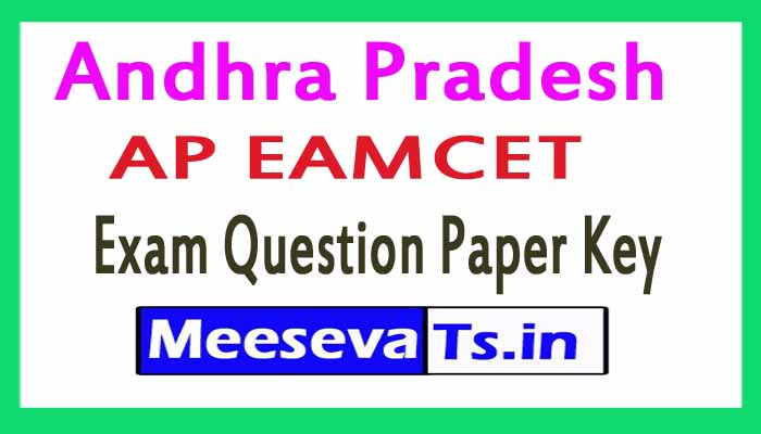 AP EAMCET Exam Question Paper Key 2018