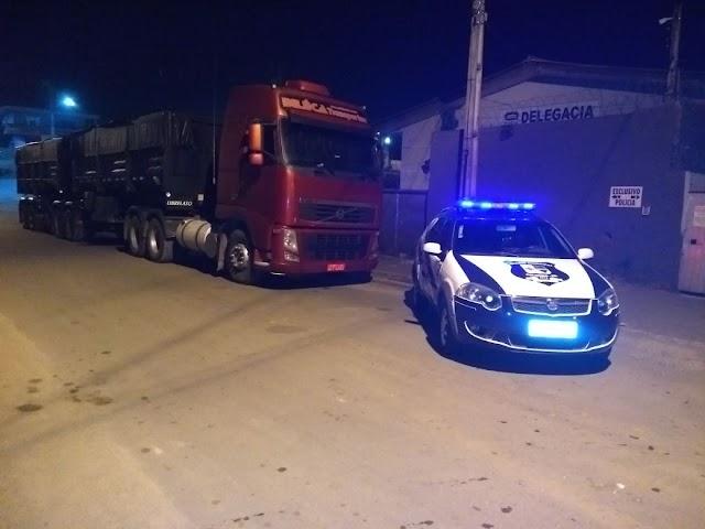 Guarda Municipal de Colombo recupera caminhão furtado em SC