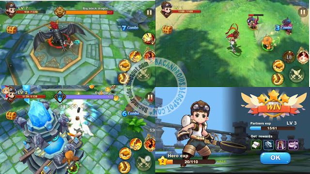 king battle fighting hero legend Apk Full mod