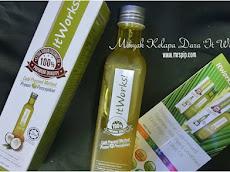 Minyak Kelapa Dara 250ml jenama ItWorks, harga affordable @ RM27.00