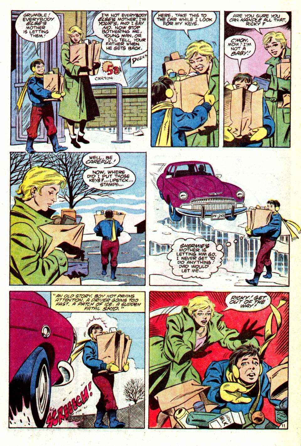 Read online Secret Origins (1986) comic -  Issue #14 - 14