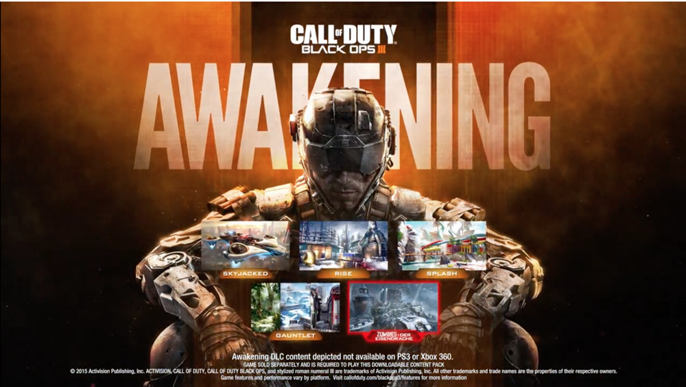 Call of Duty Black Ops 3 Awakening Poster