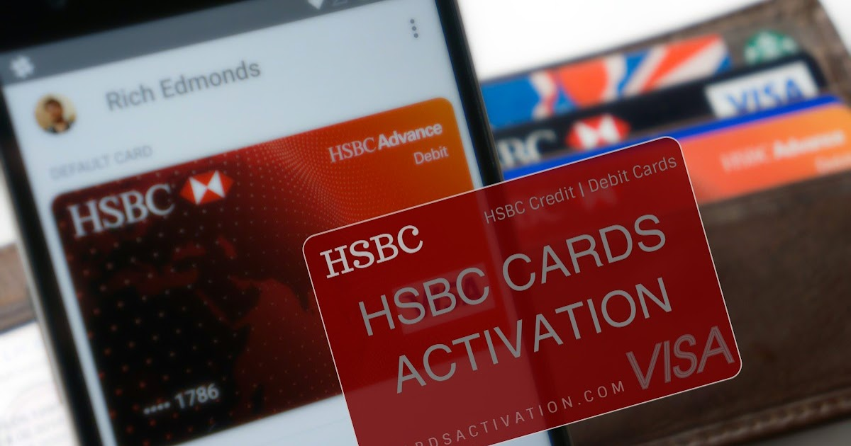 hsbc activate card