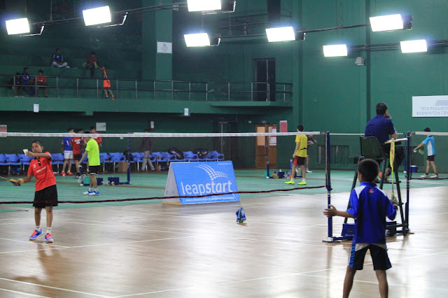 Winners of the Leapstart Badminton Championship 2016-Finals