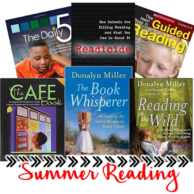 Are you in need of ideas for summer reading? This post includes suggestions for books that will help you improve your reading instruction.