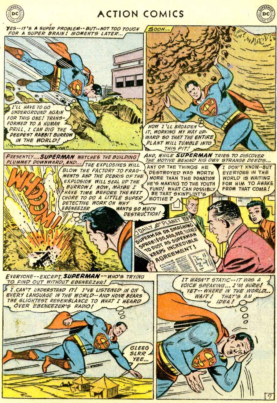 Action Comics (1938) 214 Page 10