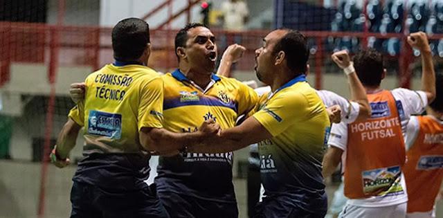 Horizonte está confirmado na 1º Copa do Brasil de Futsal.