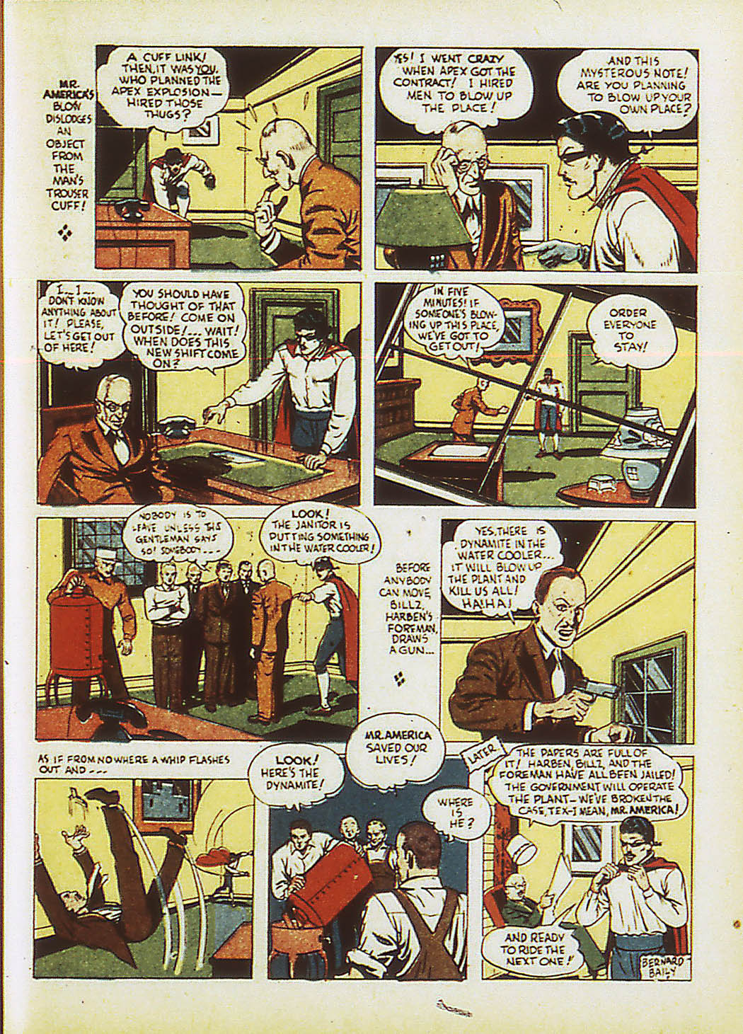 Read online Action Comics (1938) comic -  Issue #34 - 46