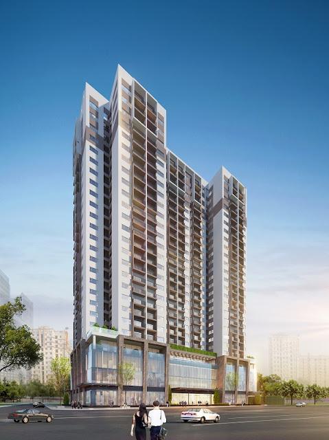Phối cảnh chung cư Eco Dream City